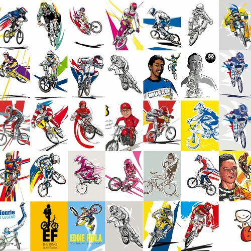 POSTER BMX LEGEND ARTWORKS BOUL