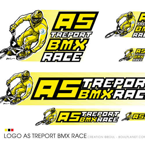 AS TREPORT BMX RACE LOGO