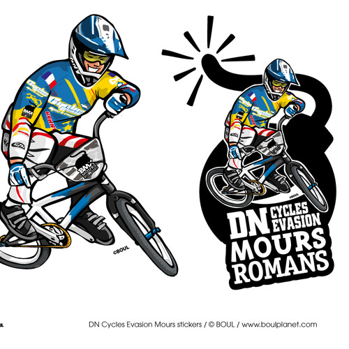 DN CYCLES EVASION MOURS