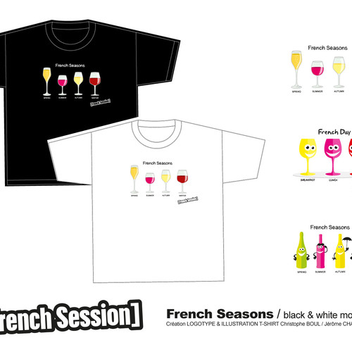 FRENCH SEASONS T-SHIRT