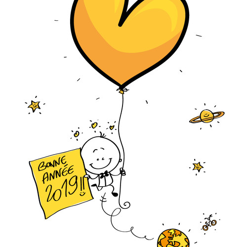 BONNE ANNEE 2019 - HAPPY NEW YEAR 2019