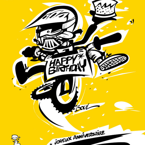 HAPPY BMX BIRTHDAY