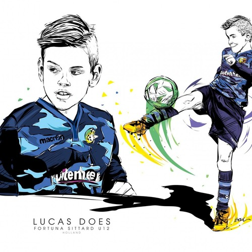 LUCA DOES - FORTUNA SITTARD U11