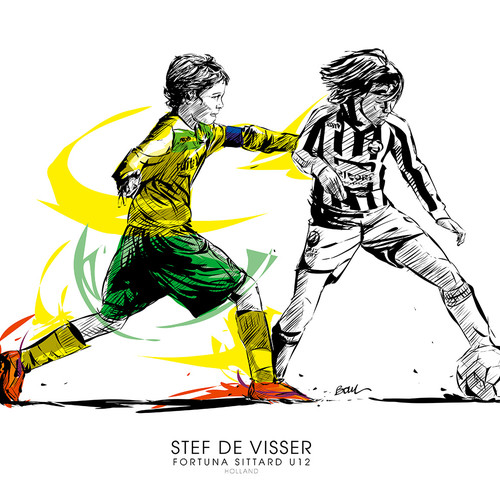 STEF DE VISSER - FOOTBALL